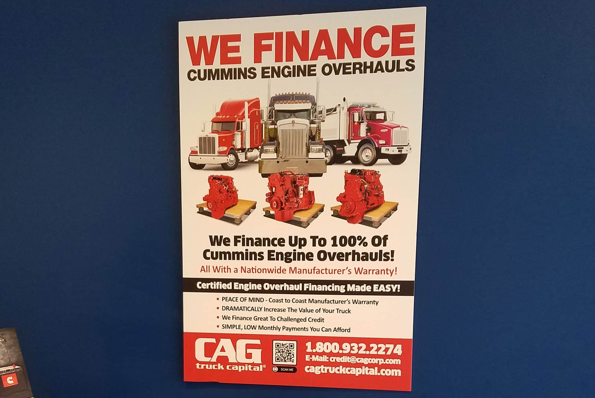 Cummins Overhaul Location Oak Creek WI
