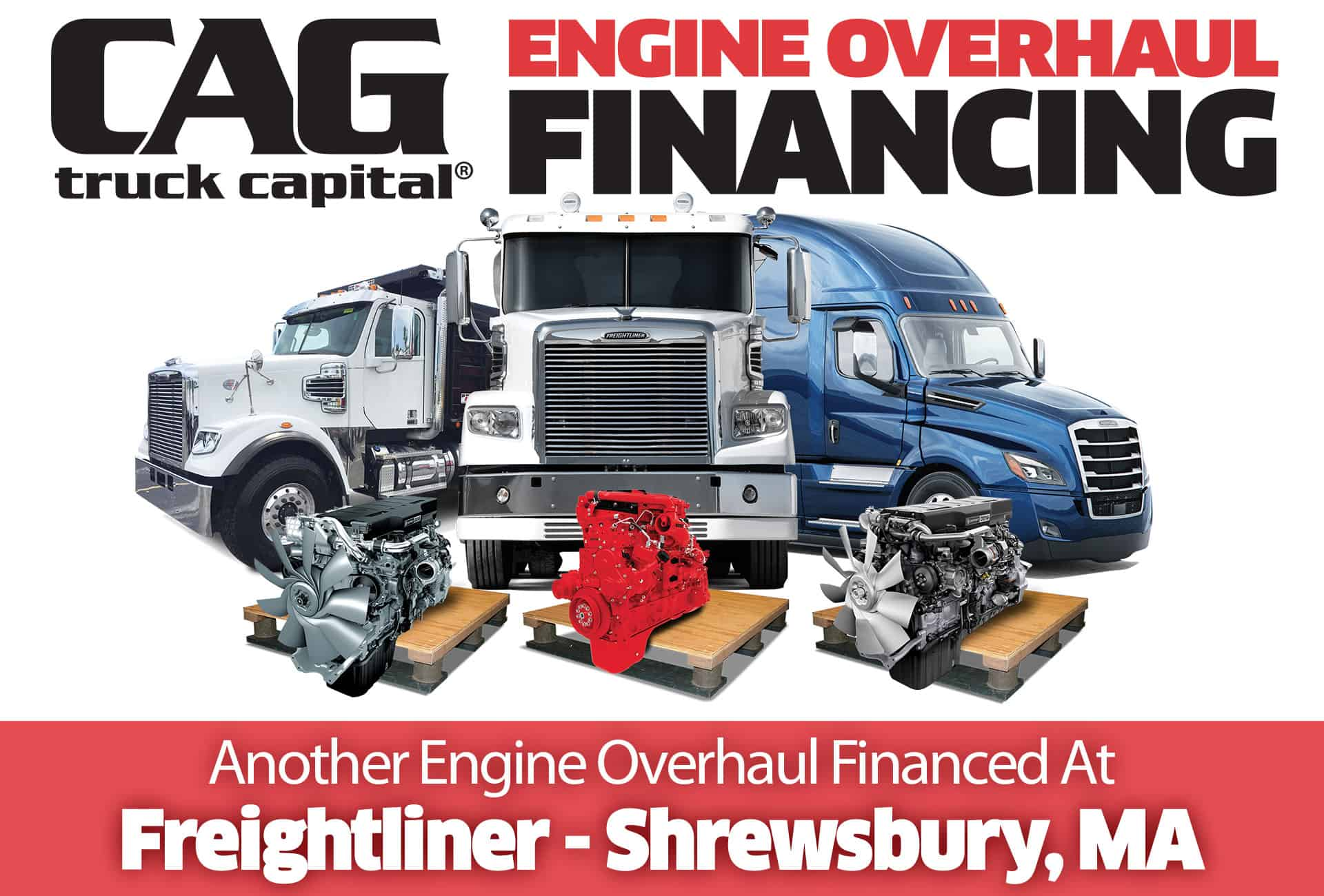 Freightliner Engine Overhauls In Shrewsbury, MA