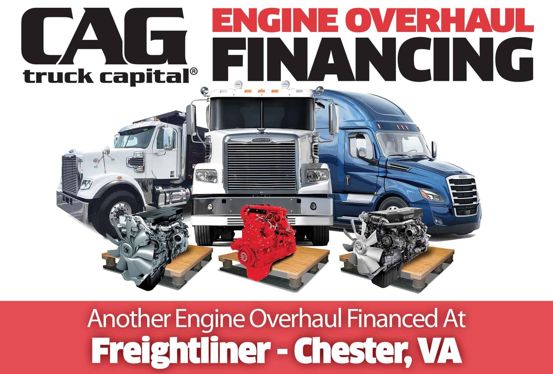 Freightliner Engine Overhauls In Chester, VA
