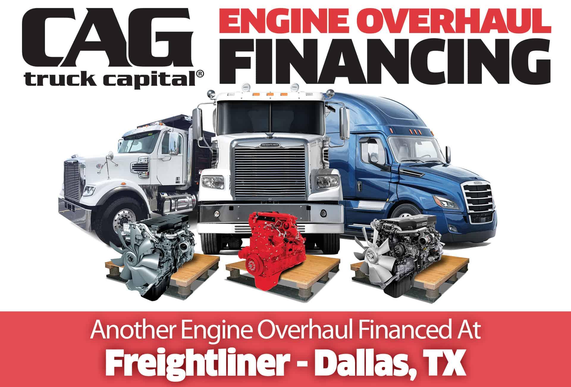 Freightliner Engine Overhauls In Dallas, TX