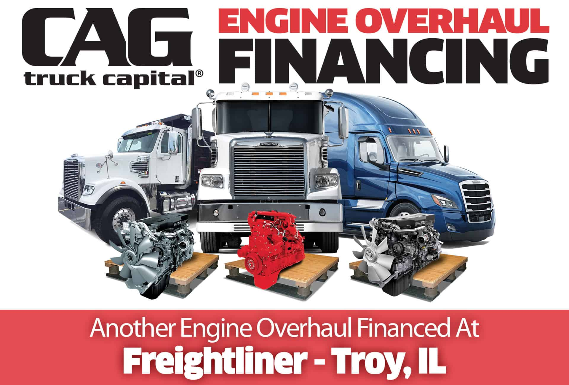 Freightliner Engine Overhauls In Troy, IL