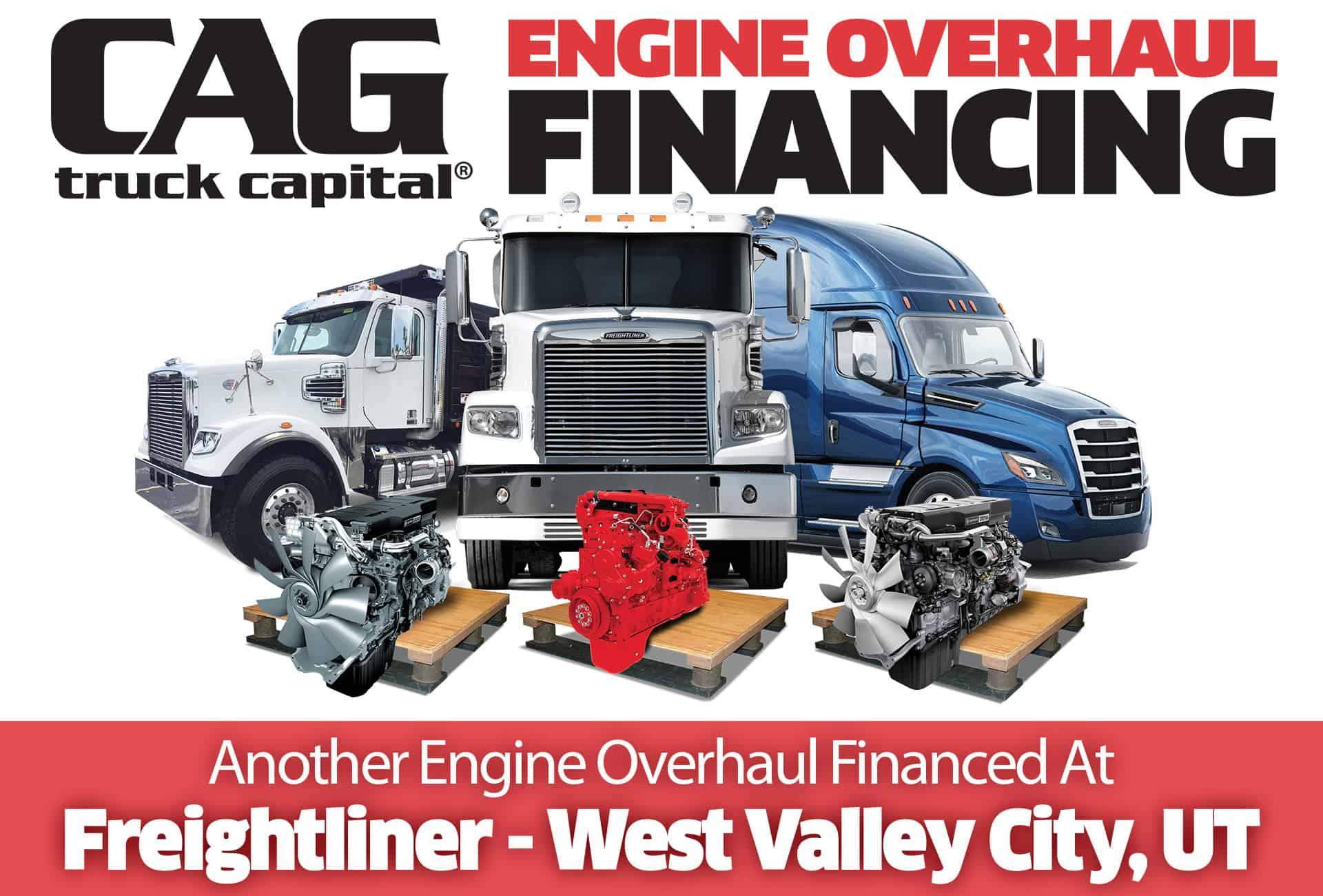 Freightliner Engine Overhauls In West Valley City, UT