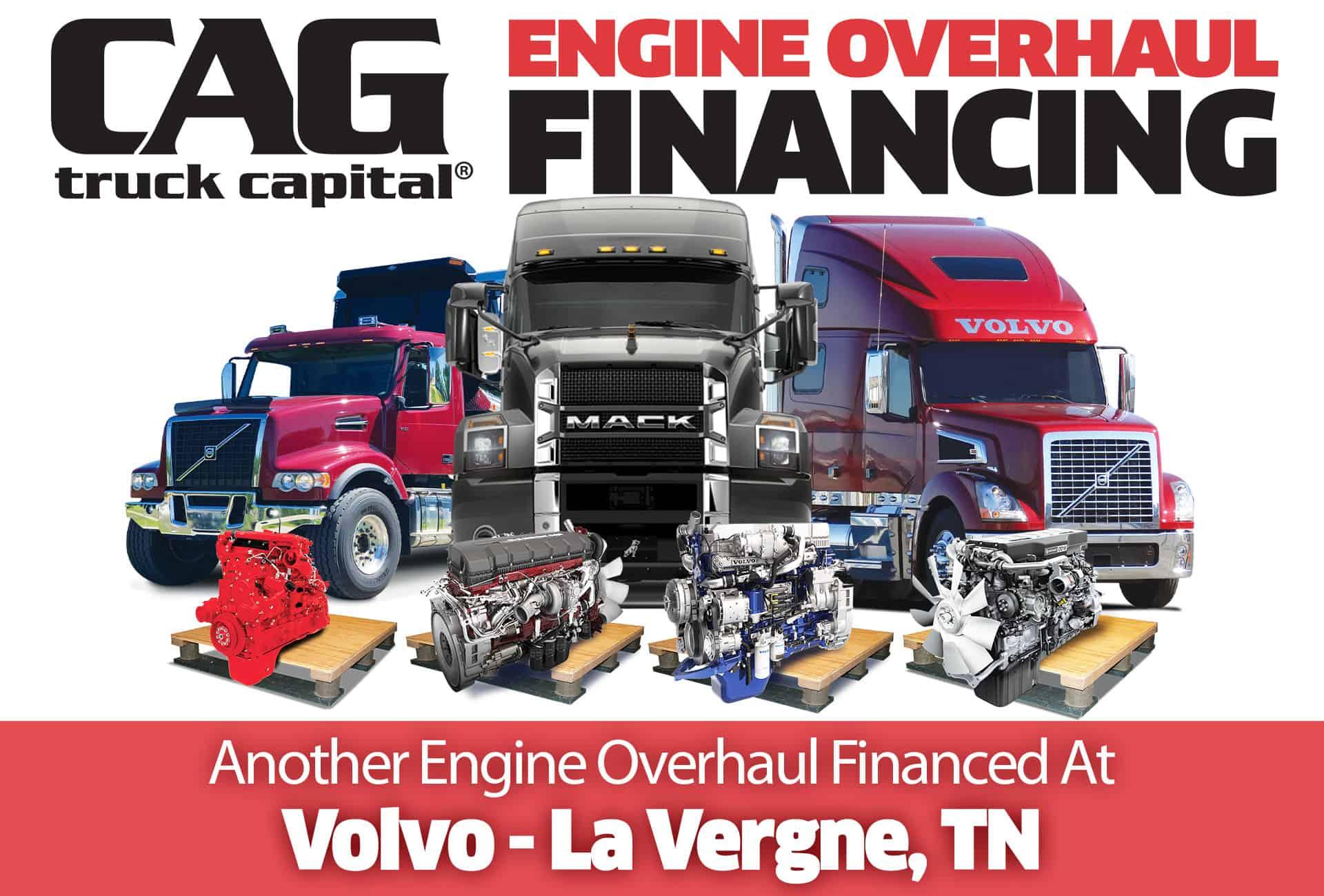 Volvo Engine Overhauls In La Vergne, TN
