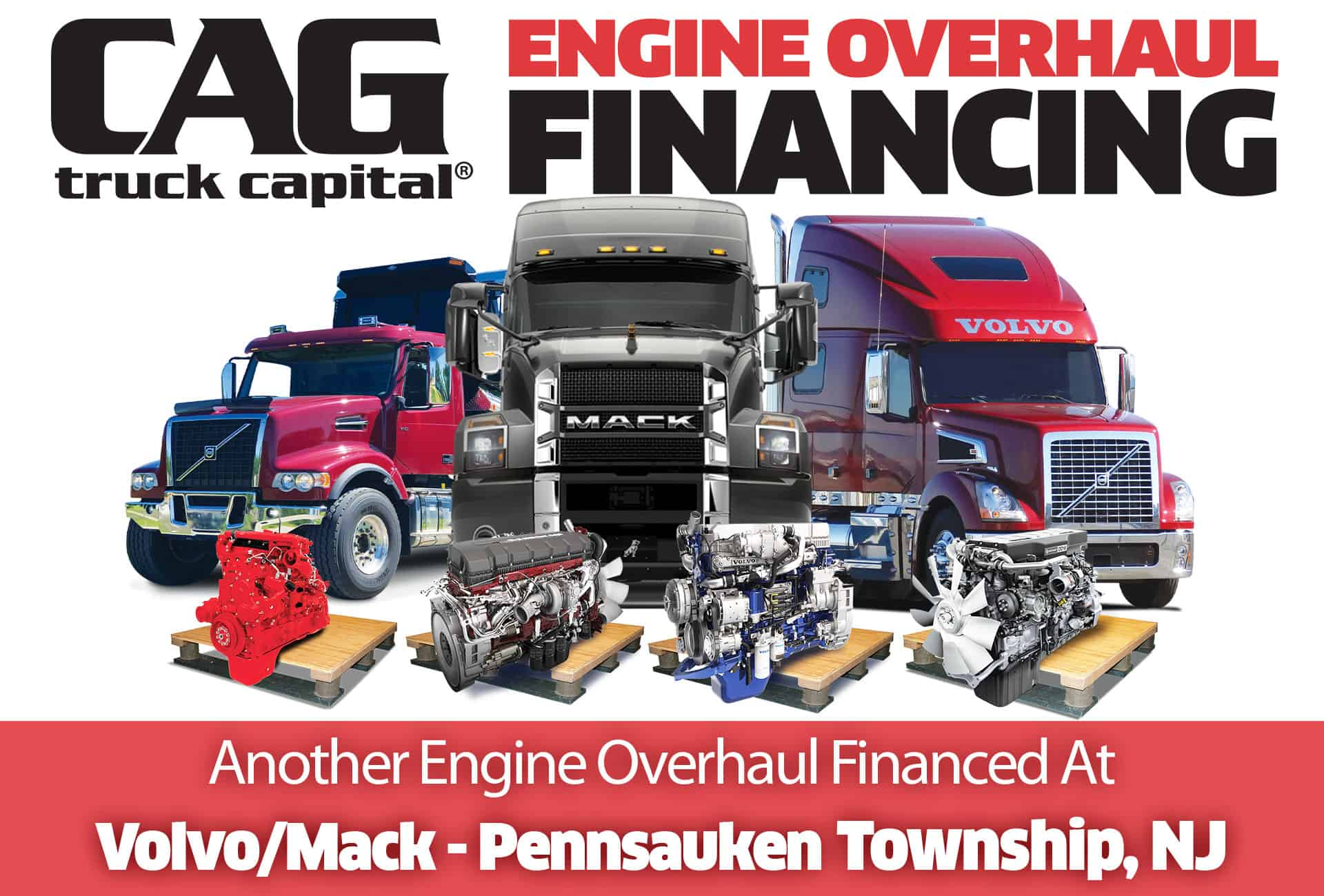 Volvo/Mack Engine Overhauls In Pennsauken Township, NJ