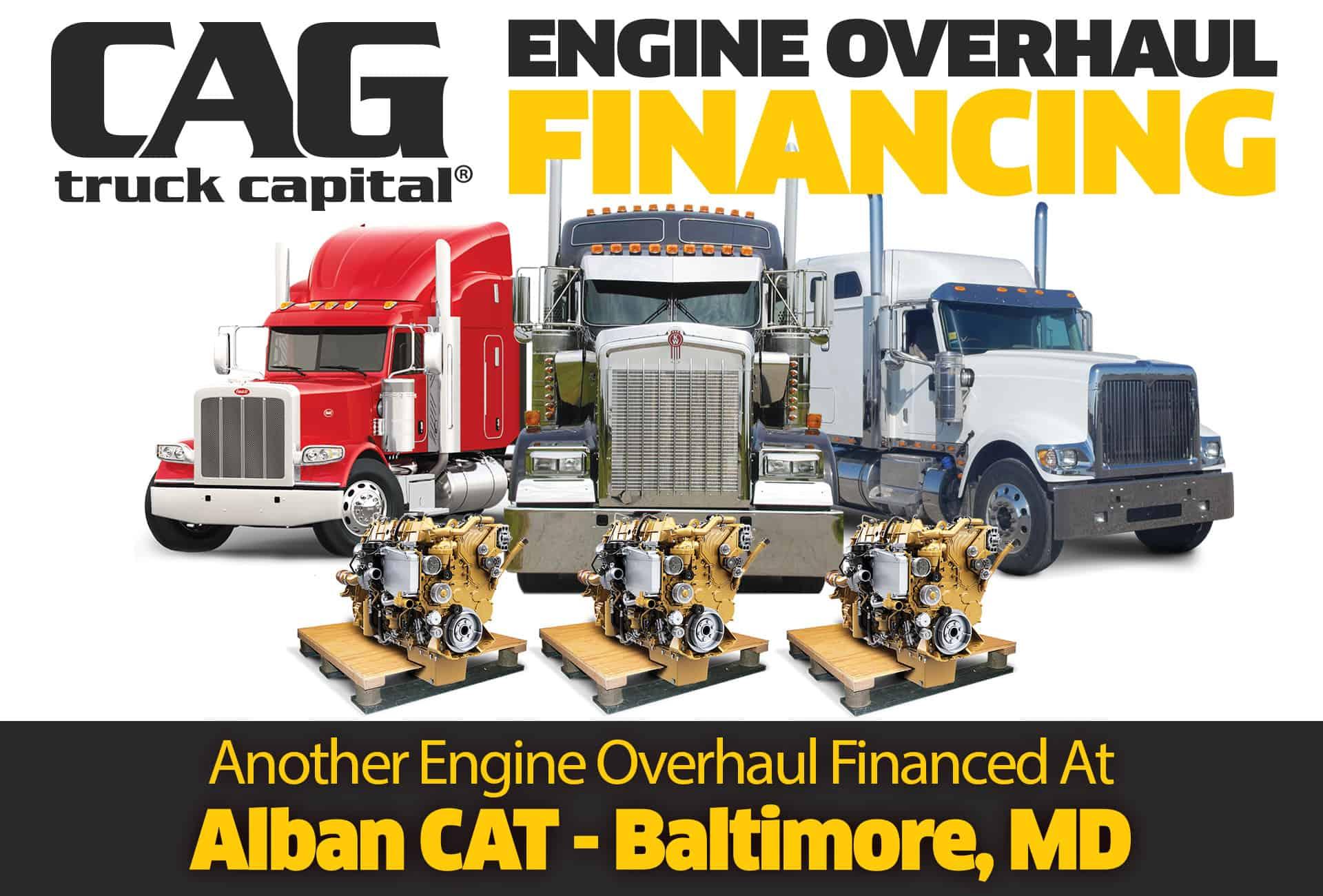 CAT overhaul Location Baltimore MD