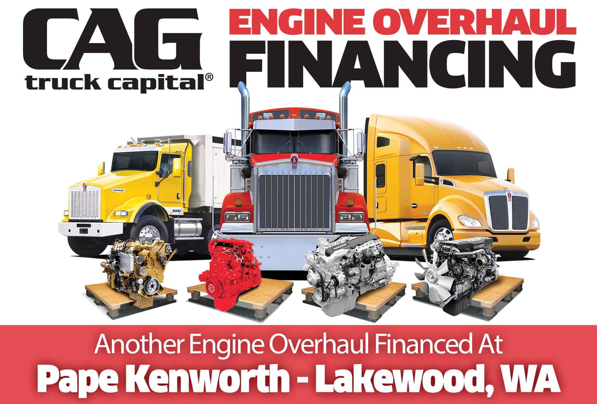 Kenworth Overhaul Location Lakewood WA