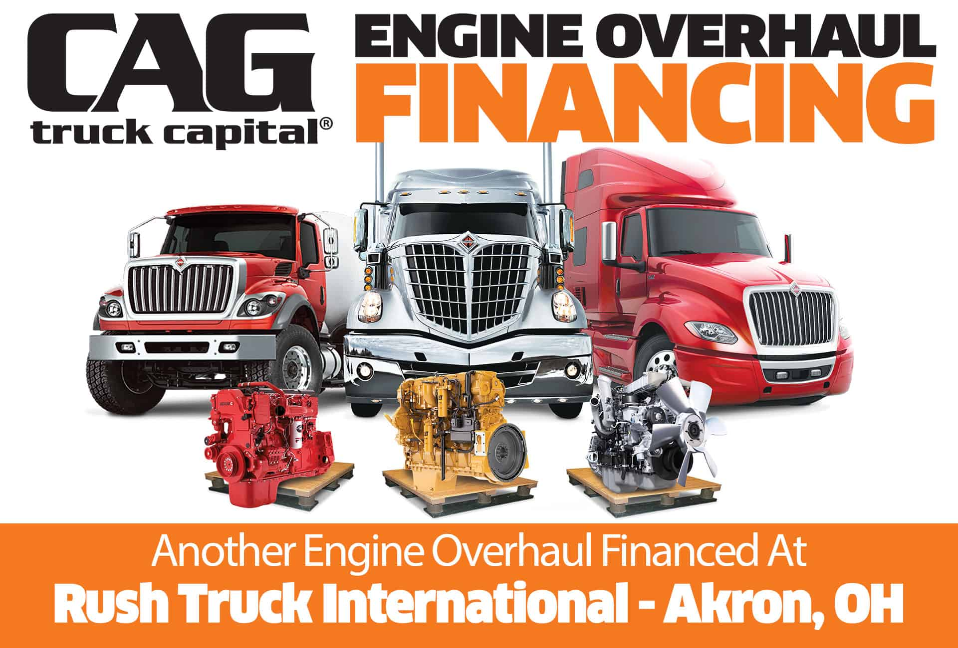 Rush International Engine Overhaul Financing Akron OH