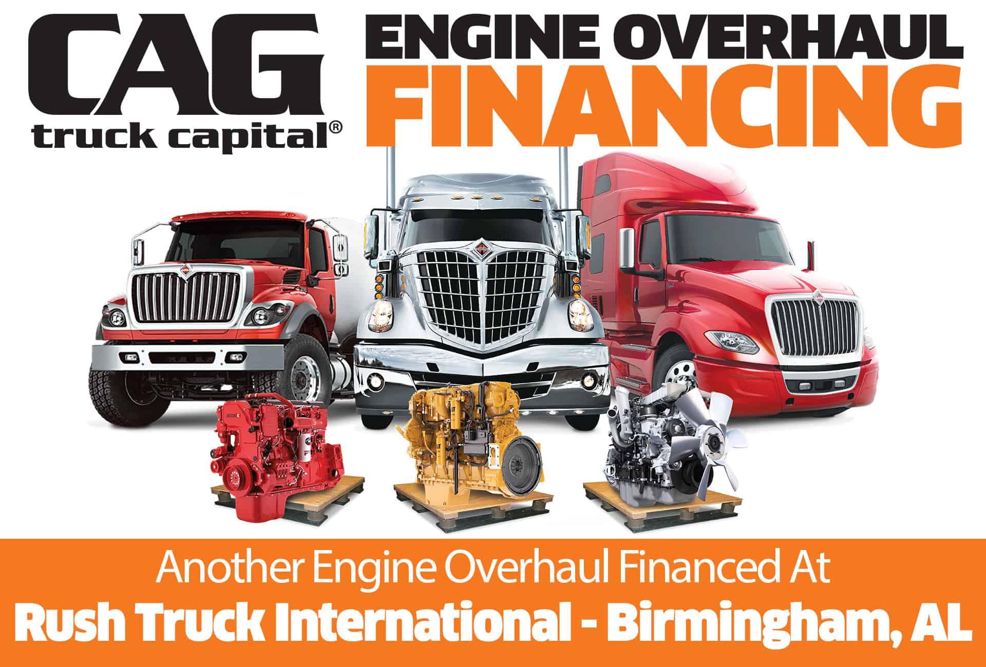 Rush International Engine Overhaul Financing Birmingham AL
