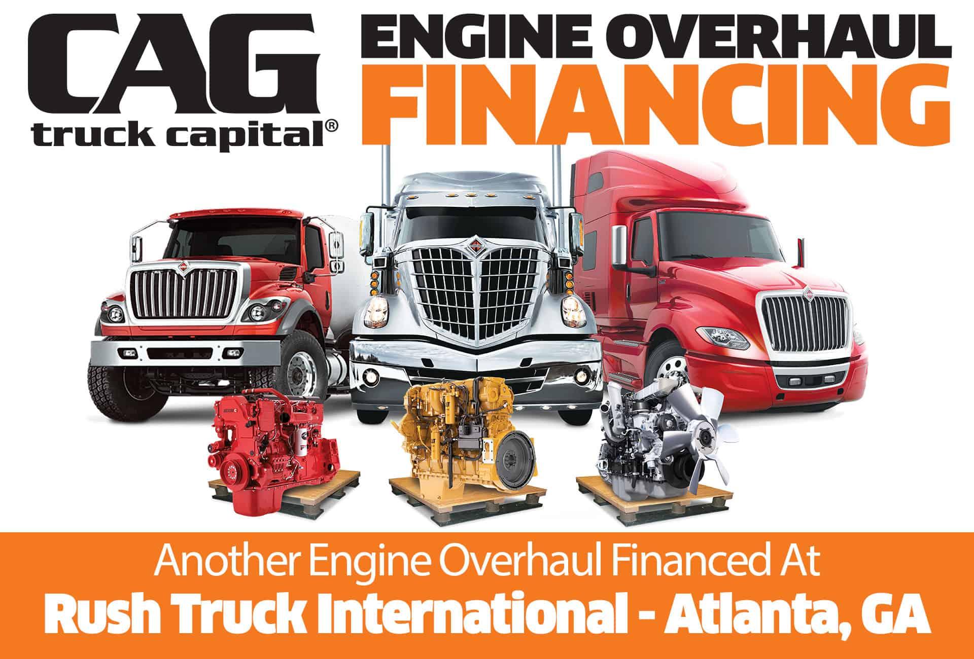 Rush International Engine Overhaul Financing Atlanta GA 2