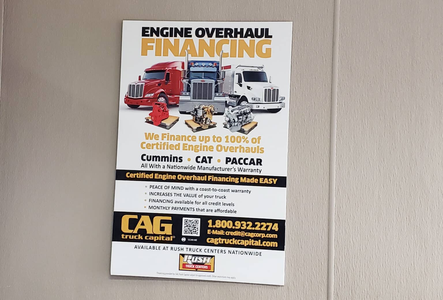 Rush Truck Centers Overhaul Locations In Dallas Texas TX