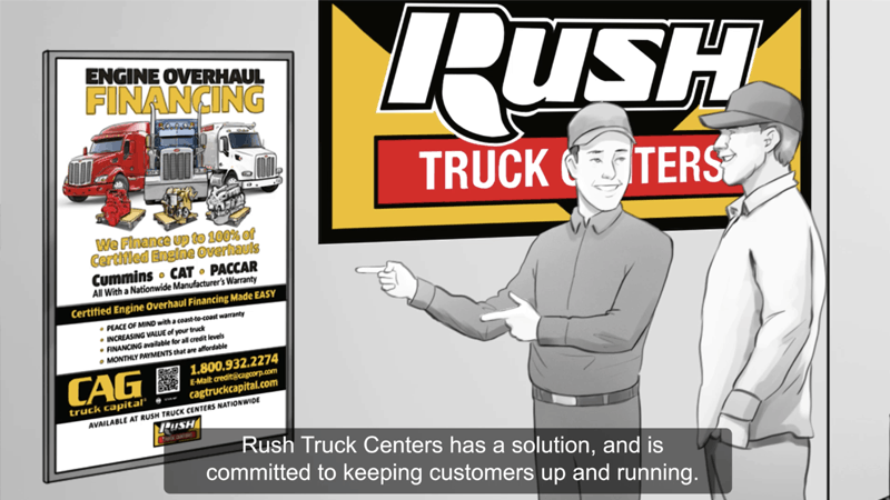Rush Truck Centers Engine Overhaul Financing Video