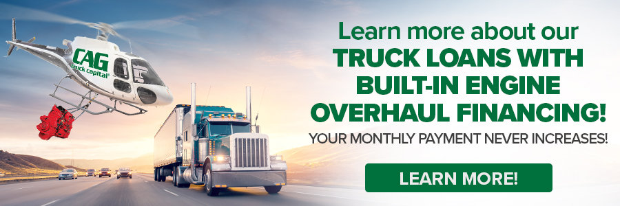 Truck Loans With Engine Overhaul Financing